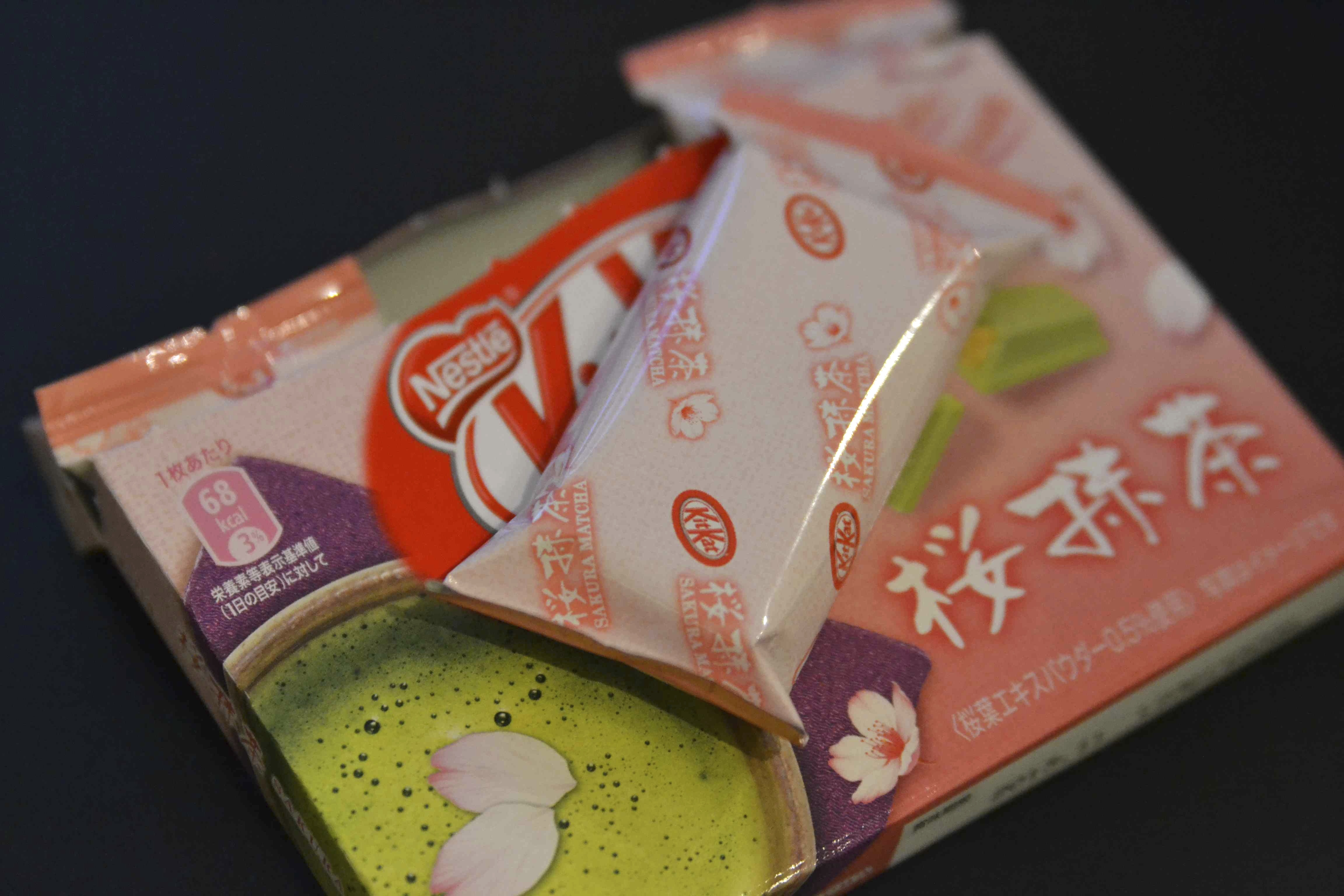 japanese kit kat sakura matcha