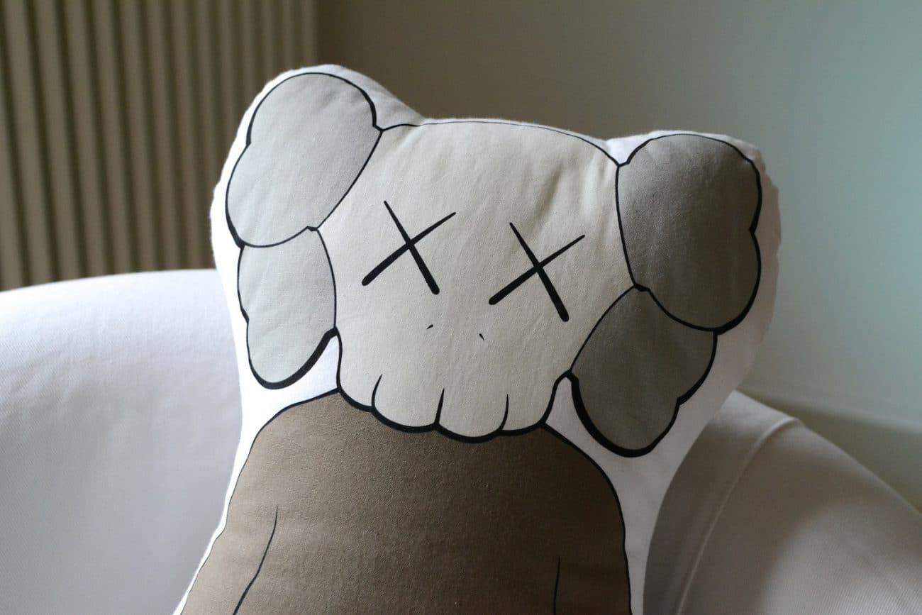 kaws companion pillow 2