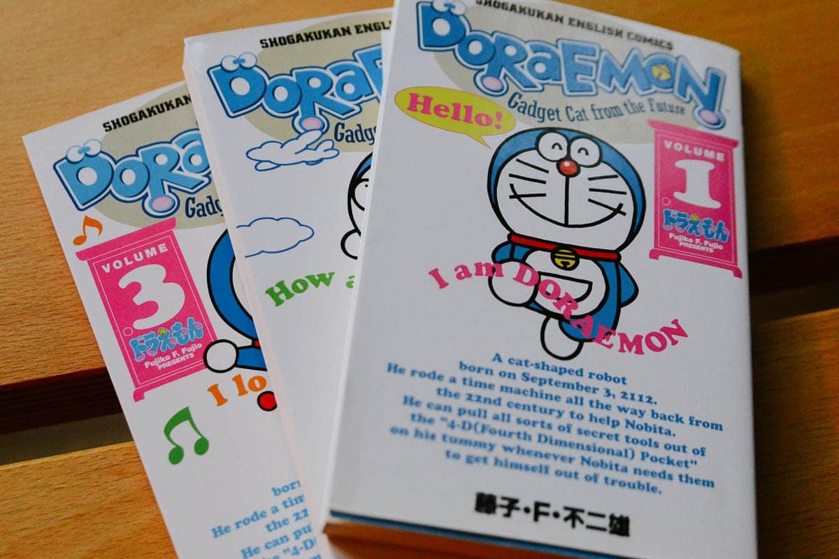 Doraemon manga portada