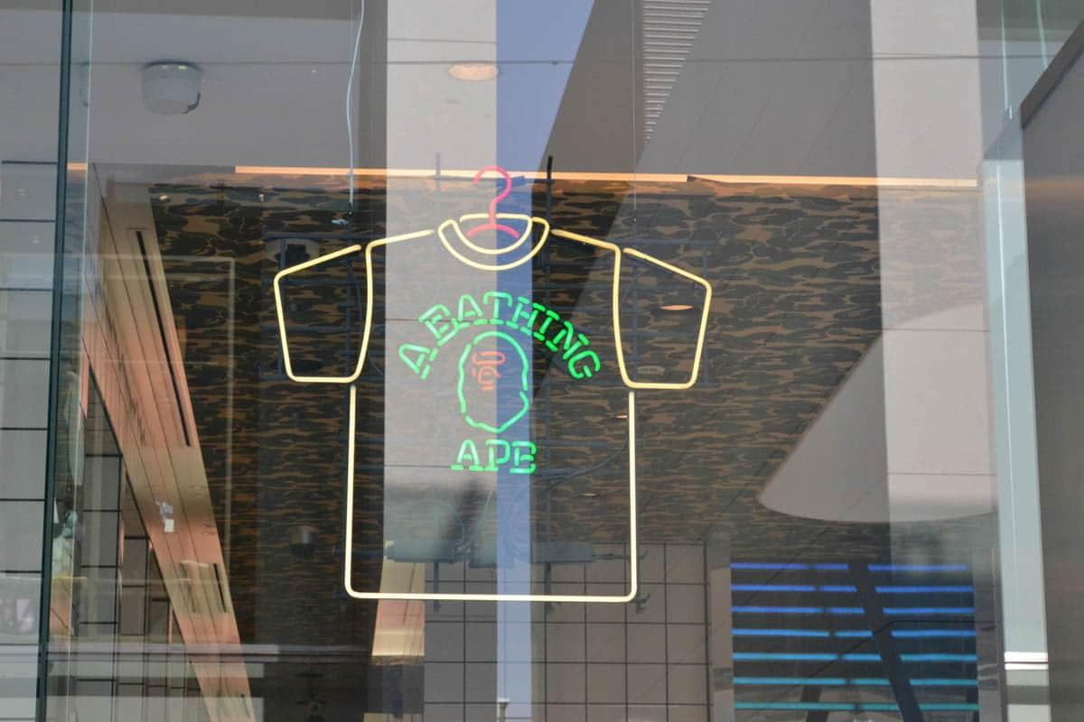 bapeexclusive store aoyama tokyo