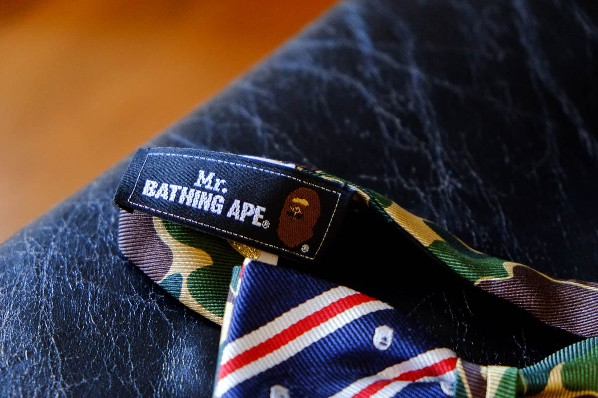 mr. bathing ape bape tie-4