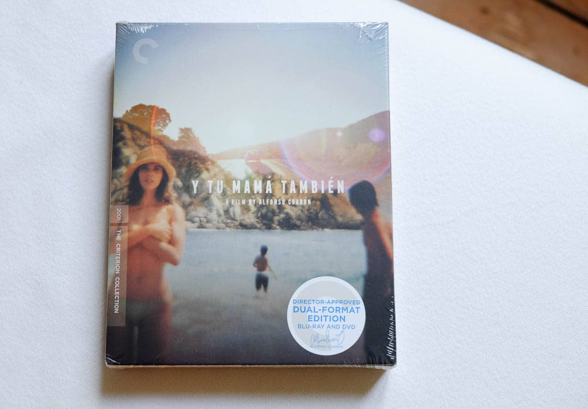 criterion packaging design y tu mama tambien digipack