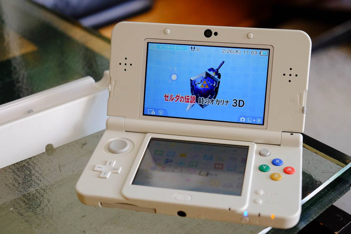 japanese 3ds zelda ocarina of time