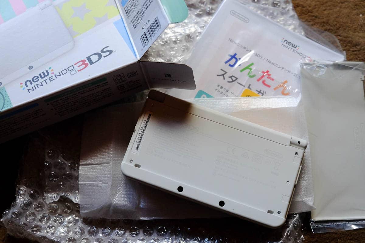 japanese new 3DS white-4