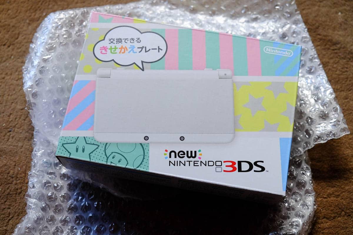 japanese new 3DS white
