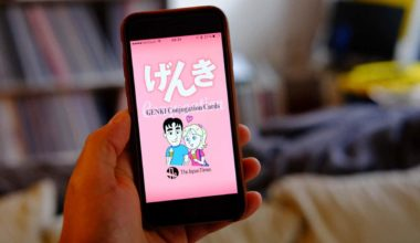 Genki conjugation app