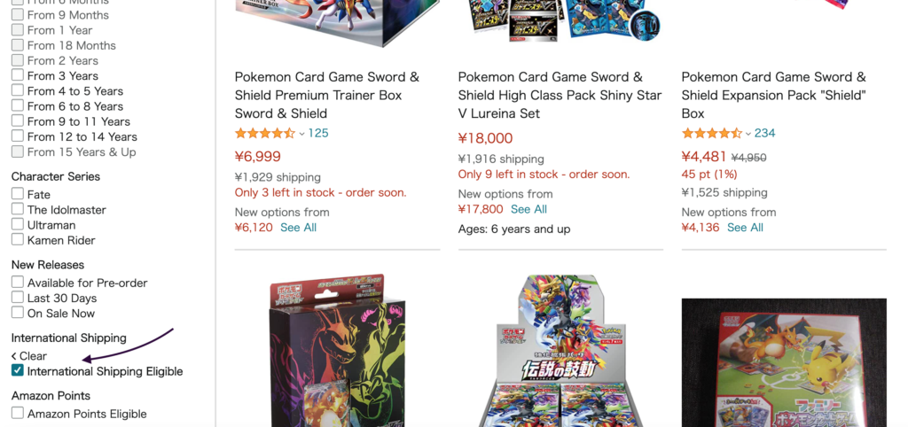 guide buy japanese pokemon cards from japan