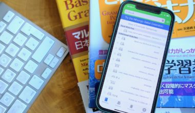 nihongo japanese dictionary app srs